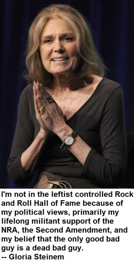 Misquoted-Gloria Steinem